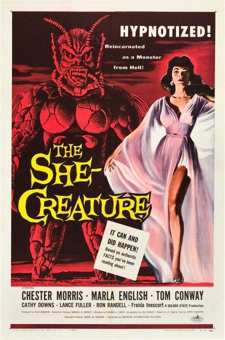 83023: The She-Creature (American International, 1956).