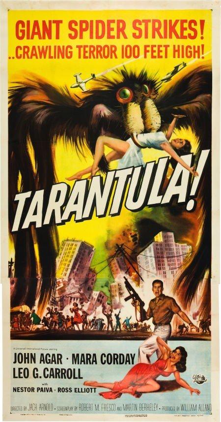 83024: Tarantula (Universal International, 1955). Three