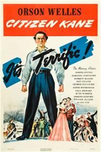 """83353: Citizen Kane (RKO, 1941). One Sheet (27"""" X 41"""")"""