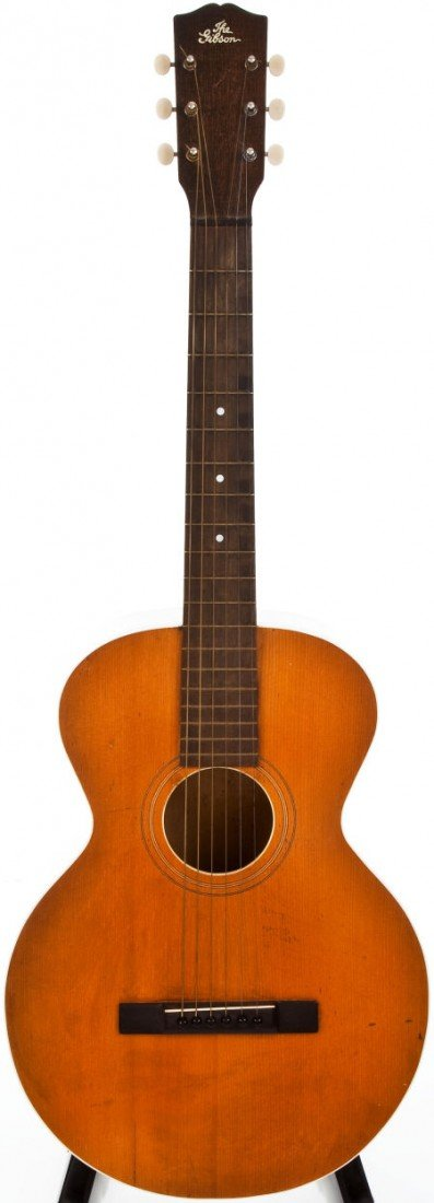 54009: 1926 Gibson L-1 Natural Acoustic Guitar, #8288.