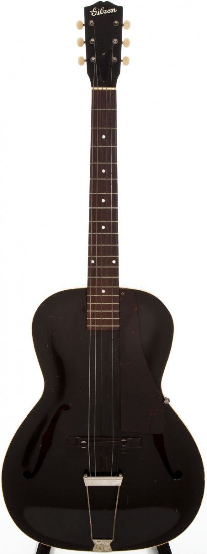54016: 1937-40 Gibson Black Special No.2 Black Acoustic