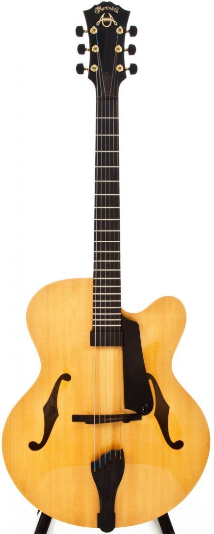 54281: 2005 Martin CF-1 American Natural Archtop Electr