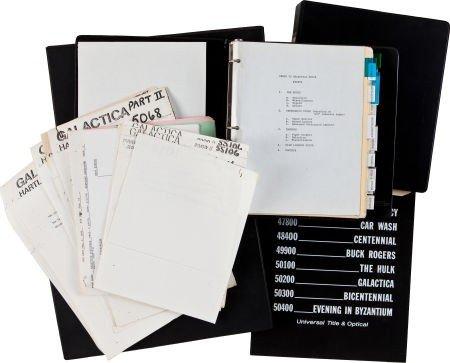 46024: Battlestar Galactica Original Series Stock Shot