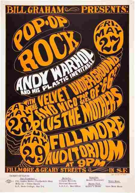 46644: Velvet Underground/The Mothers Fillmore Auditori