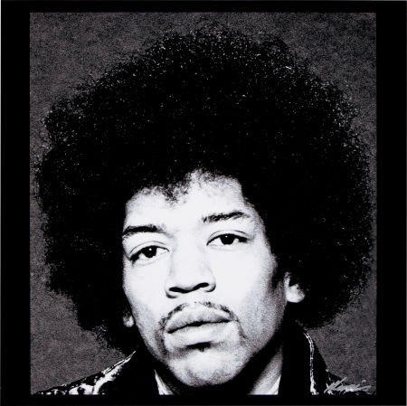 46557: Jimi Hendrix Rare Afro Portrait Limited Edition