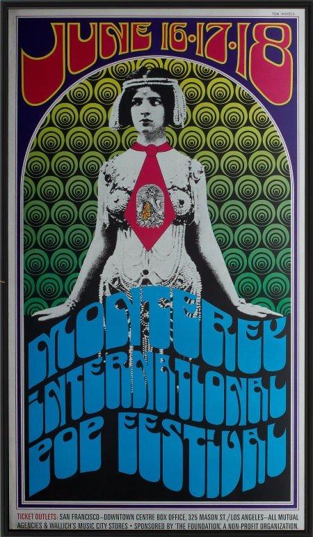 46711: Monterey Pop Festival Poster (1967).