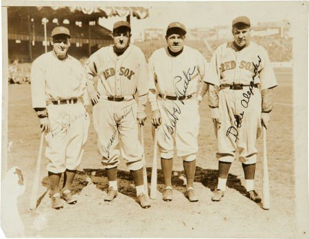 80024: 1933 Babe Ruth & Lou Gehrig Signed Photograph.