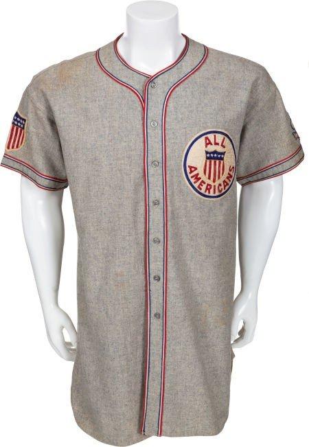 80005: 1934 Lou Gehrig Tour of Japan Game Worn Uniform.