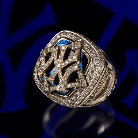 80092: 2009 New York Yankees World Championship Ring.