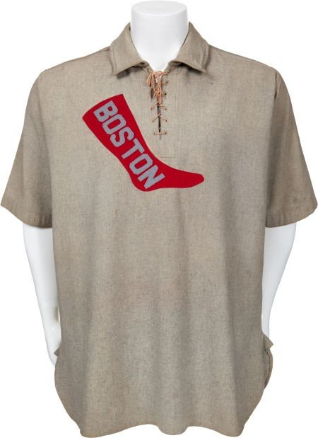 """80076: 1908 Denton T. """"Cy"""" Young Game Worn Boston Red S"""