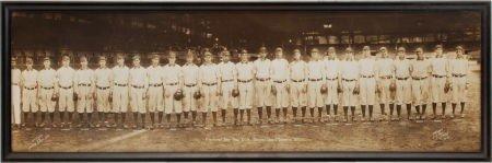 80018: 1909 Pittsburgh Pirates Panoramic Photograph fro