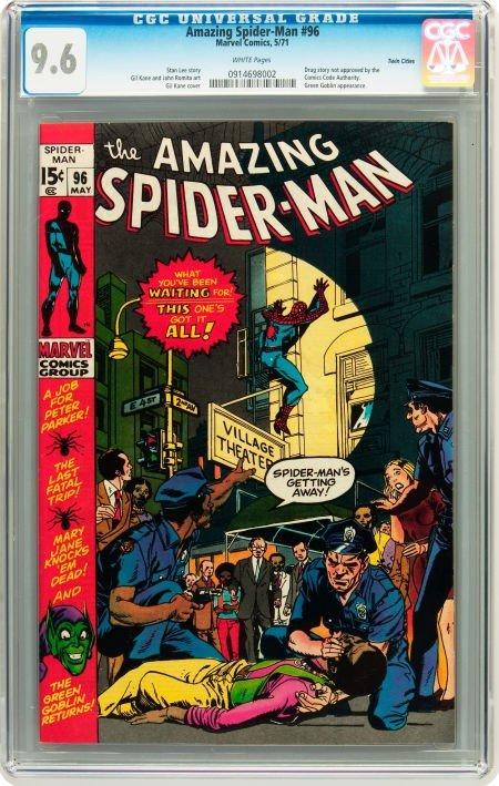 91001: The Amazing Spider-Man #96 Twin Cities pedigree