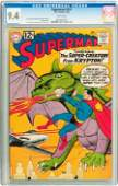 91201: Superman #151 (DC, 1962) CGC NM 9.4 White pages.