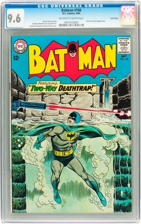 91008: Batman #166 Twin Cities pedigree (DC, 1964) CGC