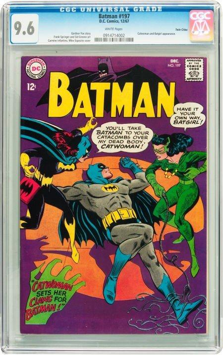 91009: Batman #197 Twin Cities pedigree (DC, 1967) CGC