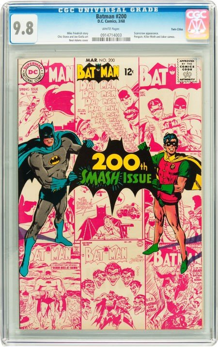 91010: Batman #200 Twin Cities pedigree (DC, 1968) CGC