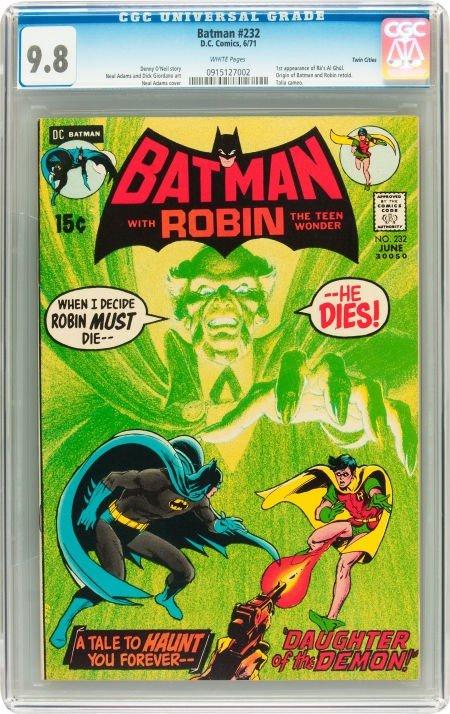 91013: Batman #232 Twin Cities pedigree (DC, 1971) CGC