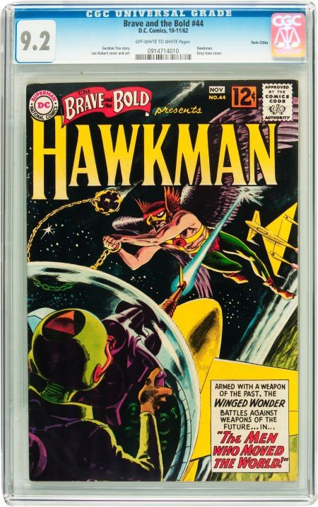 91014: The Brave and the Bold #44 Hawkman - Twin Cities