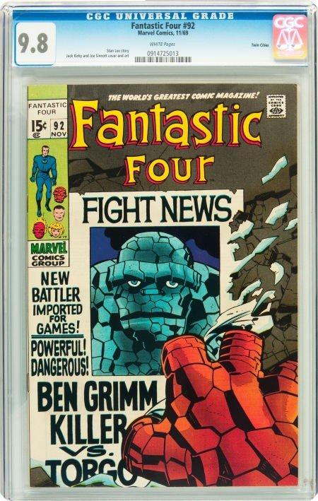 91019: Fantastic Four #92 Twin Cities pedigree (Marvel,