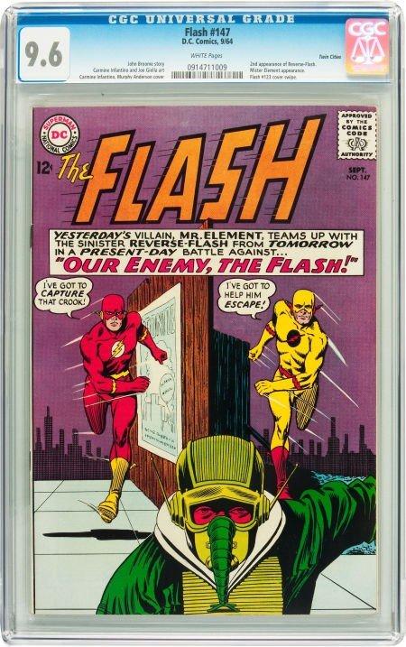 91020: The Flash #147 Twin Cities pedigree (DC, 1964) C