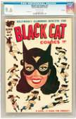 91258: Black Cat Comics #2 File Copy (Harvey, 1946) CGC