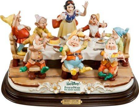 91407: Walt Disney's Having Dinner, Snow White and the