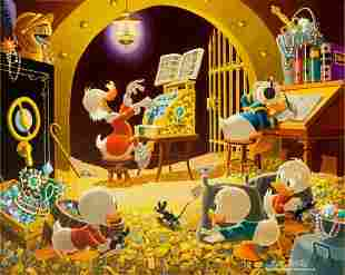 Carl Barks Spoiling the Concert Oil Painting Ori