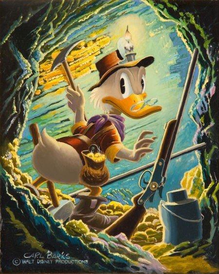 92005: Carl Barks I Found It! I Keep It! Uncle Scrooge