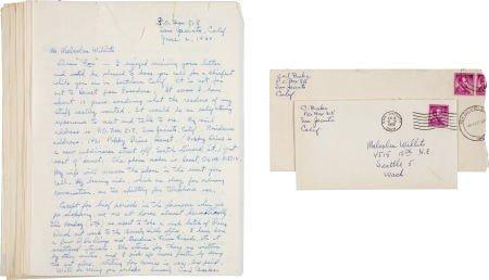 92008: Carl Barks Correspondence Group (1960-62).