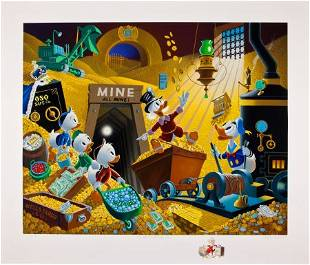 Carl Barks Uncle Scrooge Rich Finds at Inventory