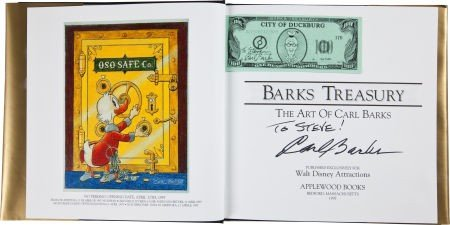 92023: Barks Treasury Gold Limited Edition with Signed