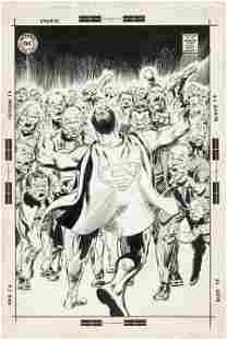 Neal Adams Superman #237 Cover Original Art (DC,