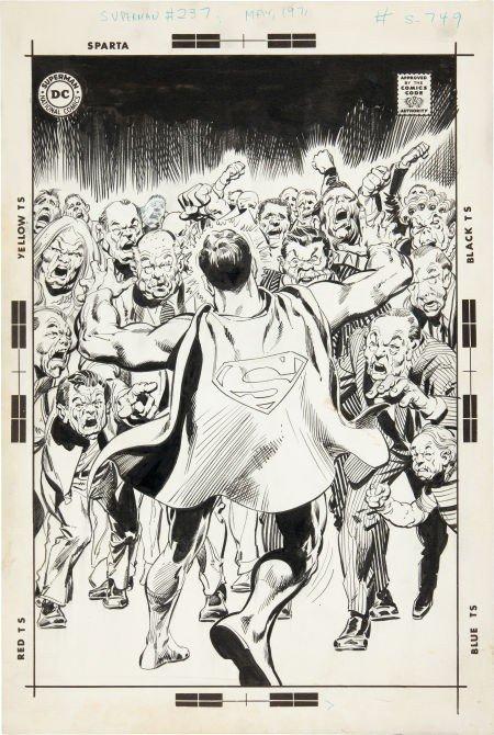 92024: Neal Adams Superman #237 Cover Original Art (DC,