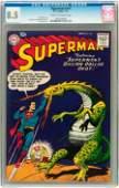 93167: Superman #114 (DC, 1957) CGC VF+ 8.5 Cream to of