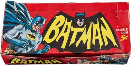 93390: Batman Trading Card Complete Set with Store Box