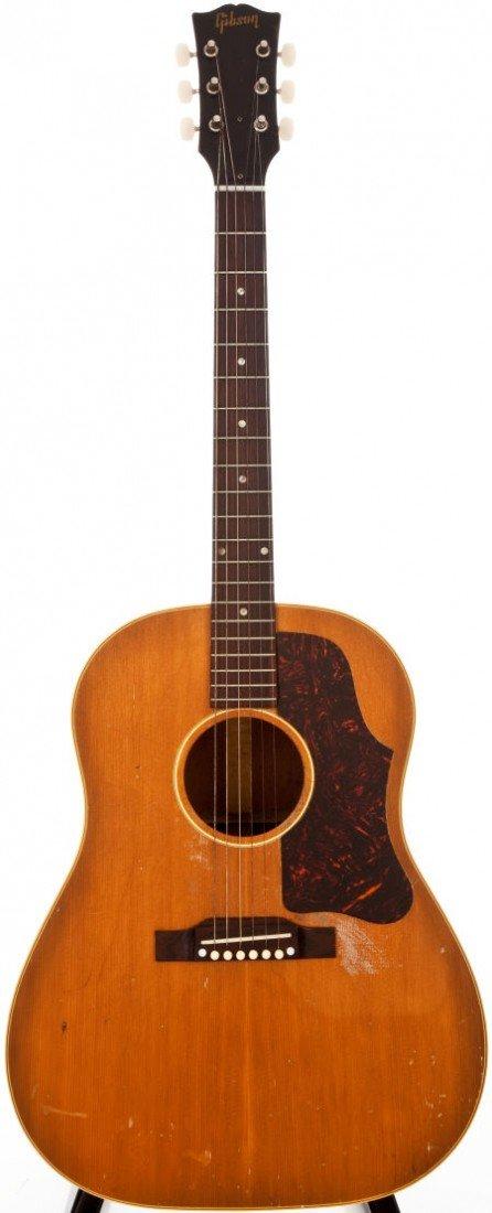 54020: 1956 Gibson J-50 Natural Acoustic Guitar, #V7897