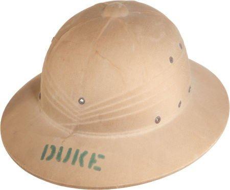 44001: A Pith Helmet, 1948.