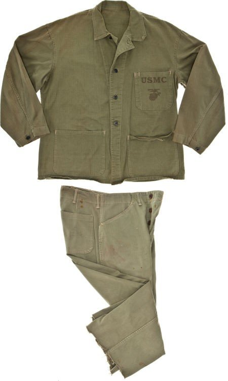 """44002: A Costume from """"Sands of Iwo Jima."""""""