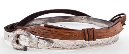 44009: Two Hatbands, 1960s.
