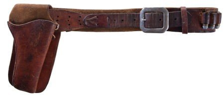 "44010: A Holster and Gun Belt from ""El Dorado."""