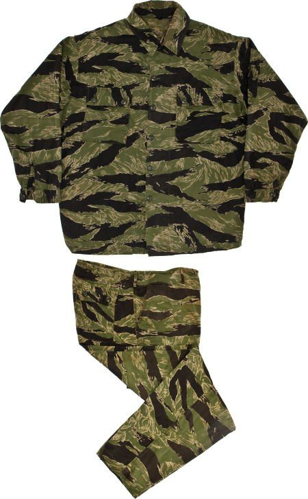 """44012: A Pair of Camouflage Fatigues from """"The Green Be"""