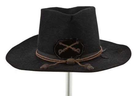 """44021: A Cavalry Hat from """"The Horse Soldiers,"""" """"Circus"""