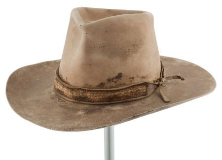 """44024: A Cowboy Hat from """"Big Jake,"""" """"The Cowboys,"""" and"""