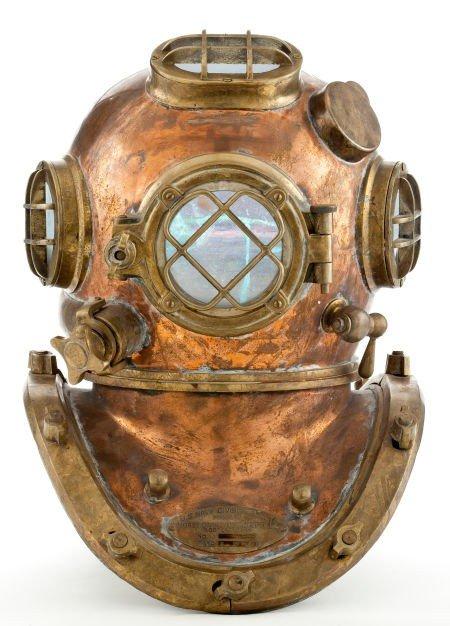 44545: A U.S. Navy Diving Helmet, 1941.