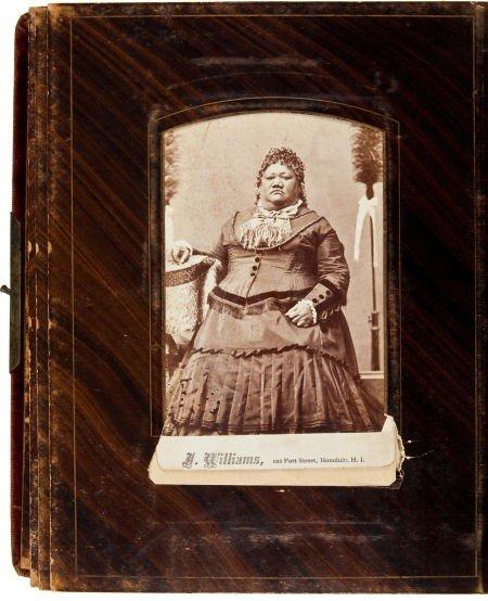 35012: Hawaiian Royalty Photograph Album