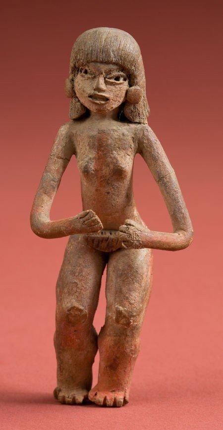 50319: Xatlitia/ Olmec Standing Female Figure