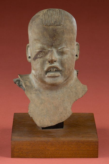 50321: Olmec Baby Head Fragment
