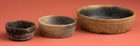 50322: Three Olmec Bowls