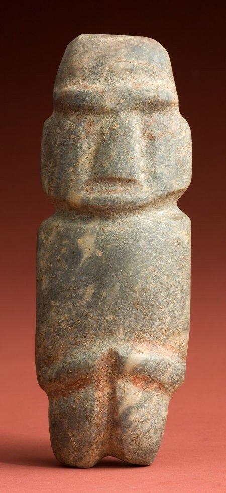 50332: Rare Large Mezcala Idol with Original Paint