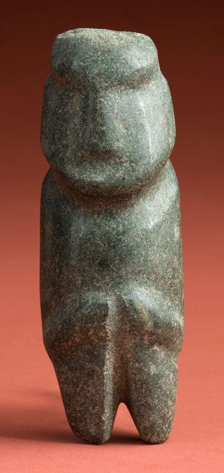 50333: Mezcala Green Stone Idol